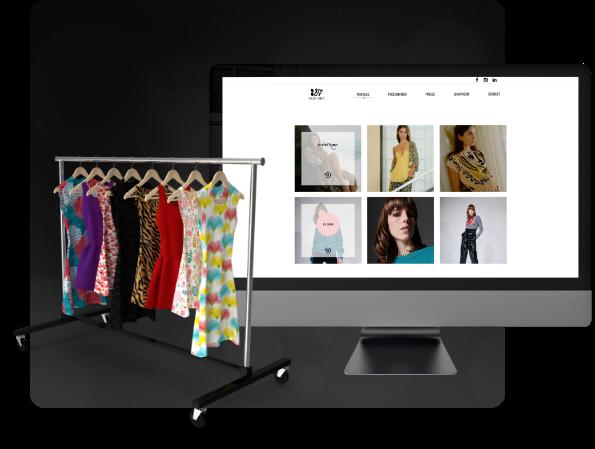 Conception du site vitrine d'un showroom dans la mode