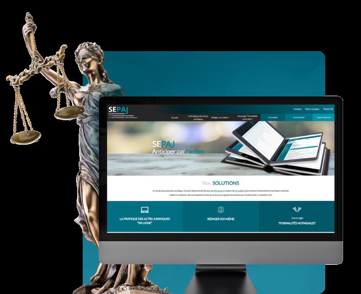 Conception du logiciel de formation notariale SEPAJ