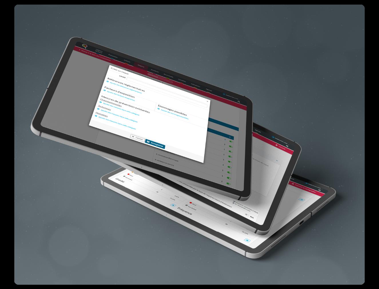 Création d'un logiciel de management de la qualité et d'évaluation interne